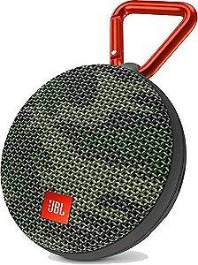 Caixa de Som Portátil Bluetooth JBL Clip 2 Camuflada