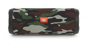 Caixa de Som Portátil Bluetooth JBL Flip 4 Camuflada