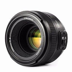 Lente Yongnuo YN 50mm f/1.8 para Câmeras Nikon