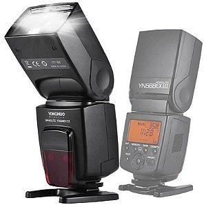 Flash Yongnuo Speedlite YN568EX III TTL para câmeras Nikon