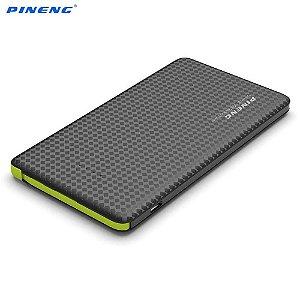 Carregador Portátil Pineng PN-952 Preto Slim 5000mAh USB