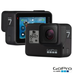 Filmadora GoPro Hero7 Black Edition Wi-Fi GPS 12.0MP Vídeo 4K