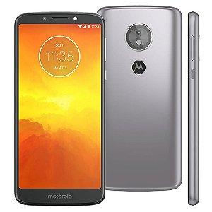 Smartphone Motorola E5 XT1944-4 Platinum 4G Dual 32GB Tela 5.7 Android 8.0 Câmera 13MP