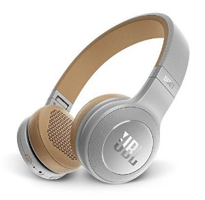 Headphone Sem Fio Bluetooth com Microfone JBL Duet BT Cinza/Bege