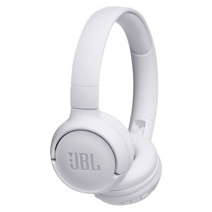 Headphone Sem Fio Bluetooth com Microfone JBL Tune 500BT Branco