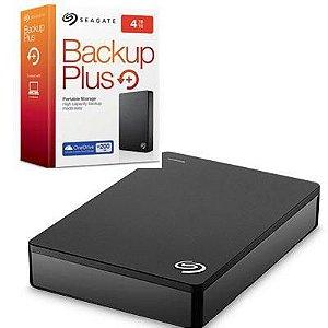 Hard Disk Externo Seagate 4TB Backup Plus Portátil USB 3.0