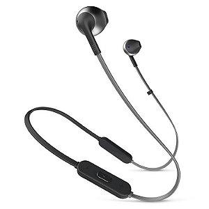 Fone de Ouvido Bluetooth com Microfone JBL Tune 205BT Preto