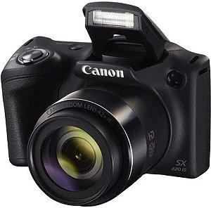 Câmera Digital Canon Powershot SX420 IS Wi-Fi 20.0MP Zoom Óptico 42X Vídeo HD