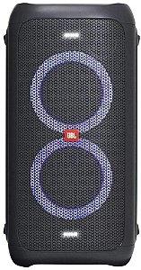 Caixa de Som Amplificada Bluetooth JBL Party Box 100 160W Preta com Bateria