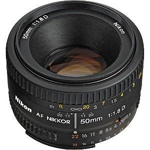 Lente Nikon AF 50mm f/1.8D