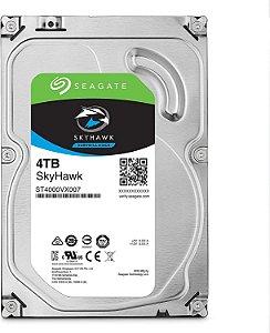 "Hard Disk Interno Seagate 4TB SkyHawk Surveillance 3.5"" SATA 6.0"