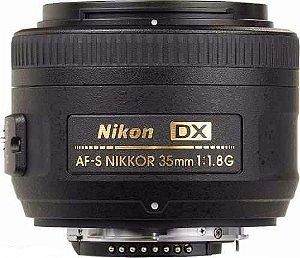 Lente Nikon AF-S 35mm f/1.8G