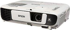Projetor Epson PowerLite S41+ HDMI SVGA 800x600 3300 Lumens Branco