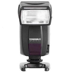Flash Yongnuo Speedlite YN468-II TTL para câmeras Canon