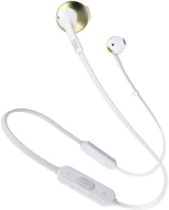 Fone de Ouvido Bluetooth com Microfone JBL Tune 205BT Champagne Gold