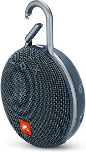 Caixa de Som Portátil Bluetooth JBL Clip 3 Azul