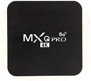 TV Box MX Q Pro 4K 4GB RAM 64GB Wi-Fi 5G Android 10.1