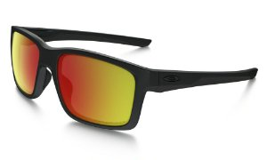 Óculos Oakley Matte Black W Ruby Iridium Polarized de42ee55ea