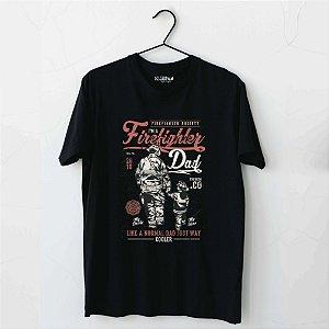 Camiseta Firefighter Dad