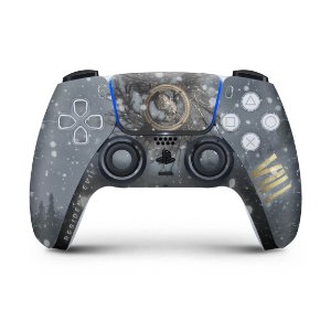 Skin PS5 Controle - Resident Evil Village