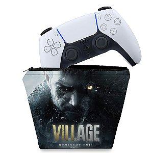 Capa PS5 Controle Case - Resident Evil Village