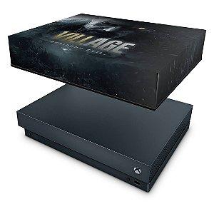 Xbox One X Capa Anti Poeira - Resident Evil Village