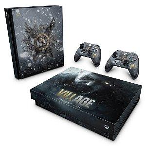 Xbox One X Skin - Resident Evil Village