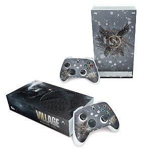 Xbox Series S Skin - Resident Evil Village