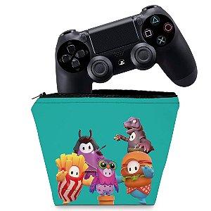 Capa PS4 Controle Case - Fall Guys
