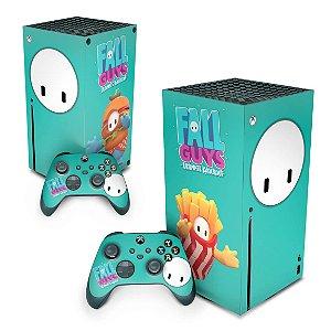 Xbox Series X Skin - Fall Guys