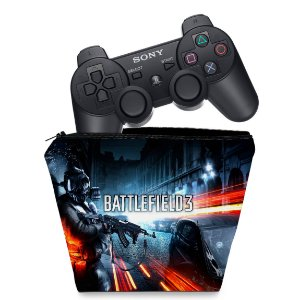 Capa PS3 Controle Case - Battlefield 3