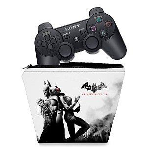 Capa PS3 Controle Case - Batman Arkham City