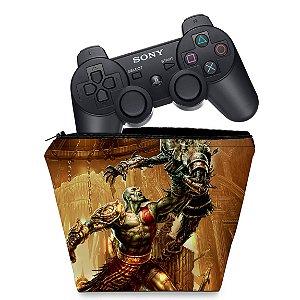 Capa PS3 Controle Case - God Of War 3 #1