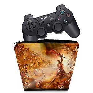 Capa PS3 Controle Case - God Of War 2
