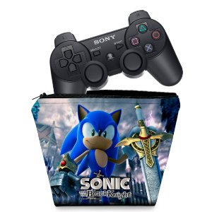 Capa PS3 Controle Case - Sonic Black Knight