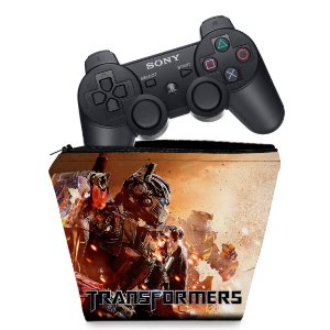 Capa PS3 Controle Case - Transformers