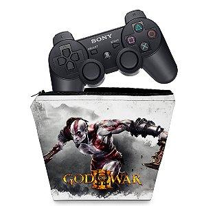 Capa PS3 Controle Case - God Of War 3 #2