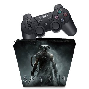 Capa PS3 Controle Case - Skyrim