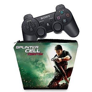 Capa PS3 Controle Case - Splinter Cell