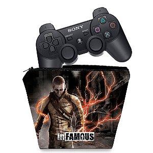 Capa PS3 Controle Case - Infamous 2