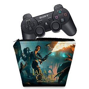 Capa PS3 Controle Case - Lara Tomb Raider
