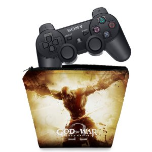 Capa PS3 Controle Case - God Of War 4