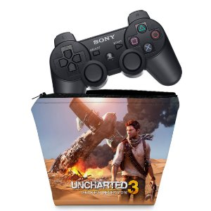 Capa PS3 Controle Case - Uncharted 3