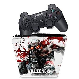 Capa PS3 Controle Case - Killzone 3