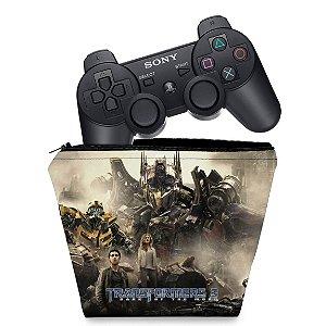 Capa PS3 Controle Case - Transformers b