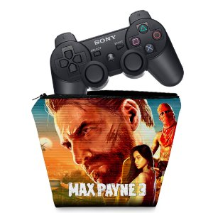 Capa PS3 Controle Case - Max Payne 3