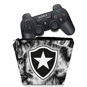 Capa PS3 Controle Case - Botafogo
