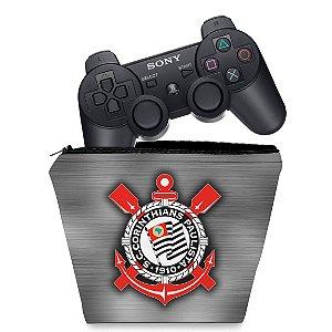 Capa PS3 Controle Case - Corinthians