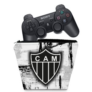 Capa PS3 Controle Case - Atlético Mineiro