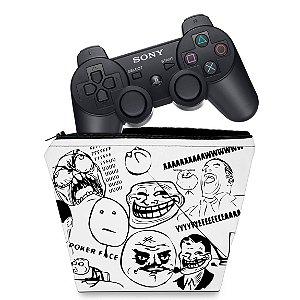 Capa PS3 Controle Case - Memes